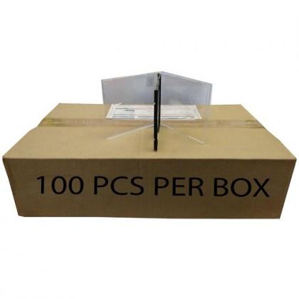 CD CASE/CASING MOVIE BOX COVER BLACK 1CD (100PCS)