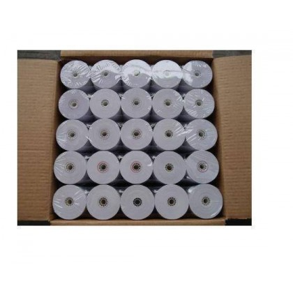 57mm x 60mm Thermal Receipt Paper Roll (100 Rolls/Box)