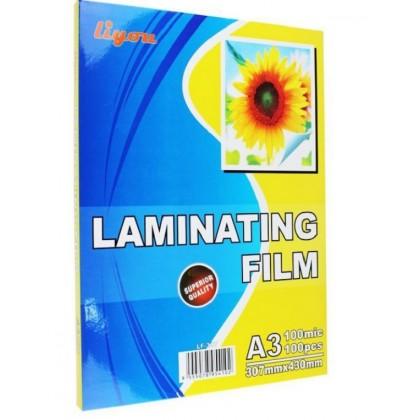 100 microns A3 A4 Laminating Laminate Laminator Film