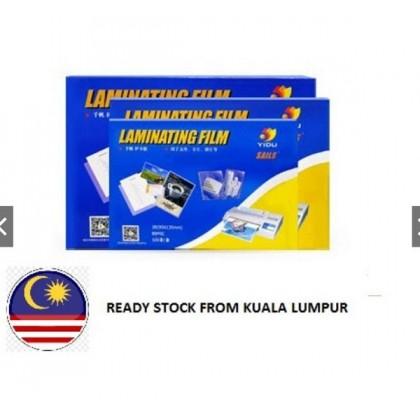 READY STOCK @ KL~A4 OR A3 Laminate Paper Laminating Film Laminator