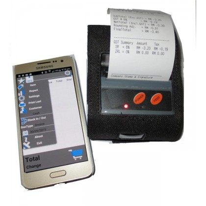 Android Mobile POS System Mobile Thermal Printer