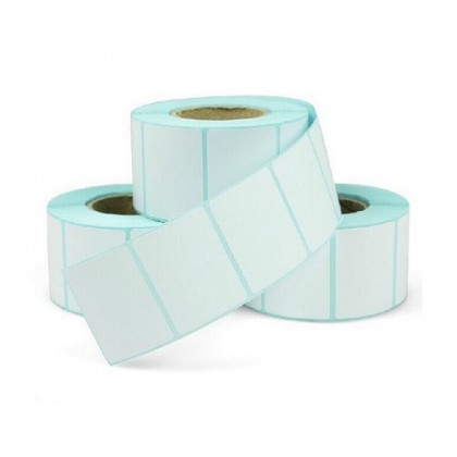 Barcode Label Thermal Paper Sticker 35x25mm 5Rolls 1000pcs/roll