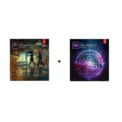 Adobe Premiere Pro CC + Adobe After Effect CC 2018 For Windows