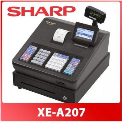 Sharp XE-A207BK / XEA207 / XEA207BK Cash Register / Cashier Mesin