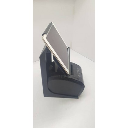Stainless steel Ipad stand + Ipad second hand (Printer not included)