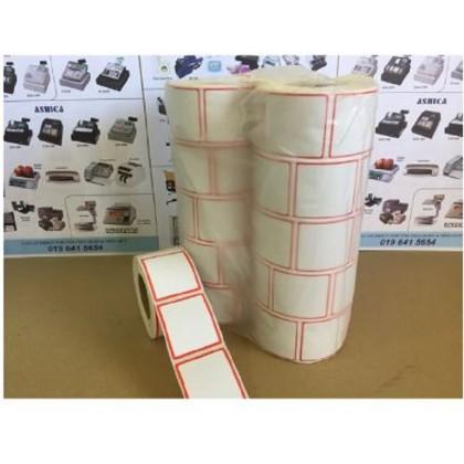 Thermal scale label sticker 40mm x 46mm 600 Pcs Per roll x10