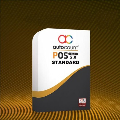 AutoCount POS 5.0 F&B Software (STANDARD)
