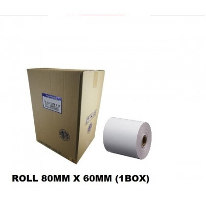 THERMAL RECEIPT PAPER ROLL 80MM X 60MM (1BOX)