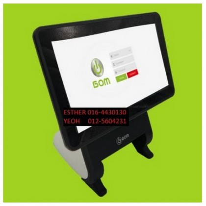 "ANDROID POS SYSTEM SUPREME 12"" ANDROID TERMINAL WITH CUSTOMER LED"