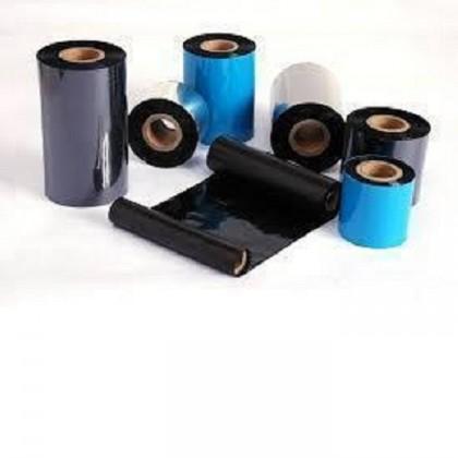 1 roll 50mm x 300mm wax ribbon + 6 rolls 45mm x 25mm Barcode Label