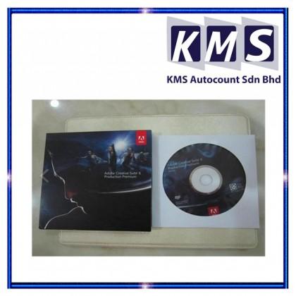 Adobe CS6 Production Premium Full Retail Commercial Pack