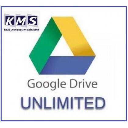 Unlimited Google Drive Storage (Lifetime)