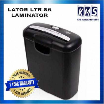 Paper Shredder Machine (Lator) LTR-S6