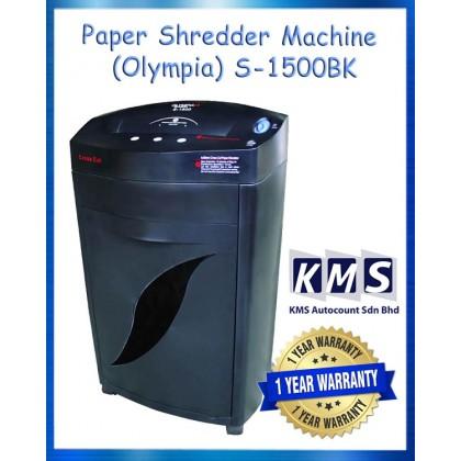 Paper Shredder Machine (Olympia) S-1500BK