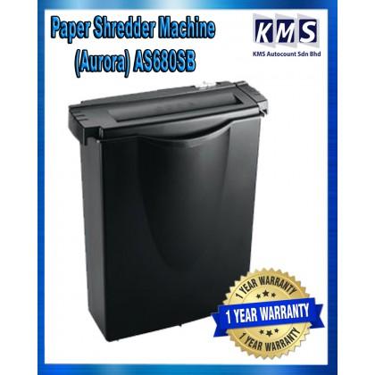 Paper Shredder Machine (Aurora) AS680SB