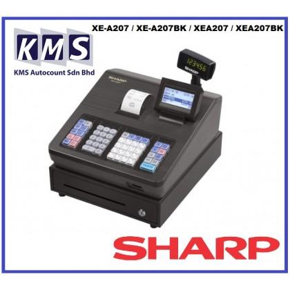 Cash Register / Cashier Mesin Sharp XE-A207 / XE-A207BK / XEA207 / XEA207BK