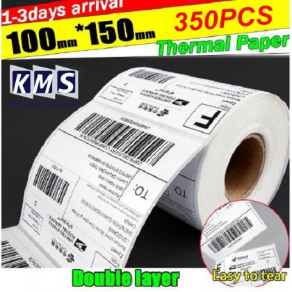 2 Roll A6 Consignment Thermal Label Paper For Postage Shipping 100 x 150mm 350 pcs