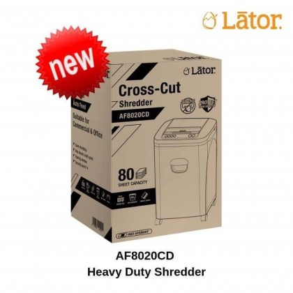 Paper Shredder AF8020CD Lator Autofeed Super Autofeed 80 sheets