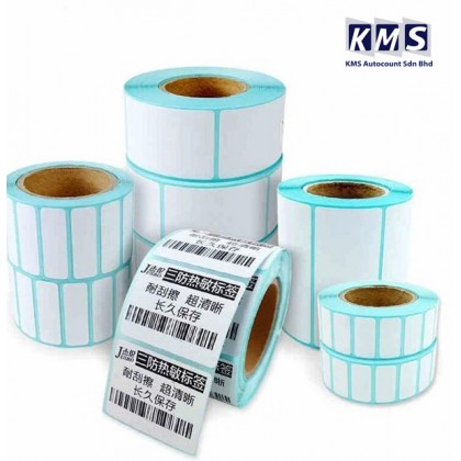 100*50mm Thermal Printer Barcode Label 500pcs Sticker Horizontel Adhesive On Roll For Office Shipping Packaging