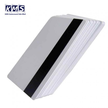 10PCS PVC Magnetic Stripe Card 2750 OE Hi-Co 3 Track Magnetic Card For Access Control System
