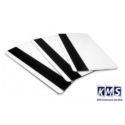 KMS 10PCS PVC Magnetic Stripe Card 2750 OE Hi-Co 3 Track Magnetic Card For Access Control System