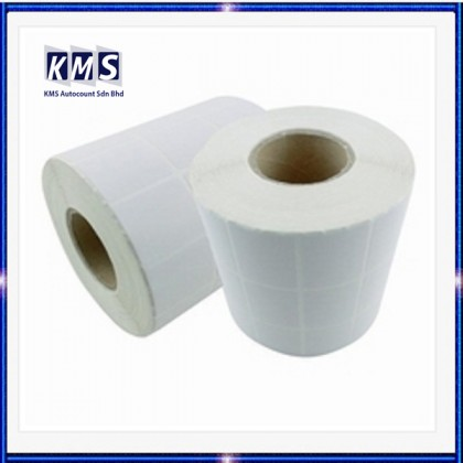 Blank Barcode Label Sticker 35mm x 25mm (3ply) (5000pcs) (1roll)