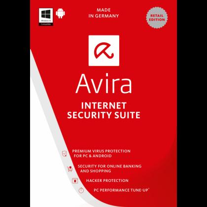 Avira Internet Security 2018 - 1 Year 3 PC - Download